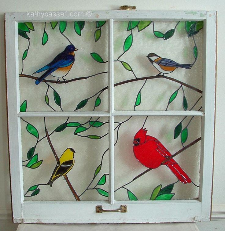best 25 painted glass windows ideas on pinterest. Black Bedroom Furniture Sets. Home Design Ideas