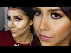 Hola chic@s! En el vídeo de hoy os hablo de los básicos del maquillaje, como conseguir un rostro definido y afinado, como hacer que tu nariz se vea más estre...