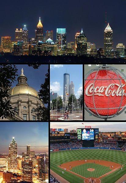 AtlantaAtlanta Homes, Favorite Places, Atlanta Georgia, Georgia Girls, Atlanta Skyline, Beautiful Places, Atlanta Ga, Roads Trips, Baseball Games