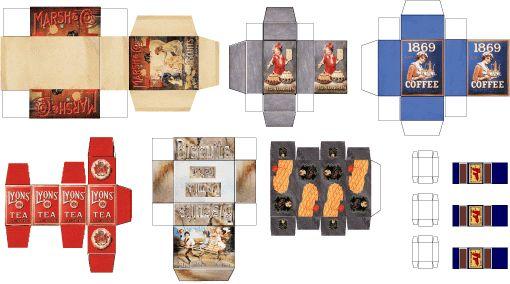 vitrines miniatures : ferme, forge, crèches, kiosque, échoppe de tissus, épiceries, spiritueux, école, cordonnier, musée alsacien, cuisine..... maquettes de bâtiments Ho..... maisons de poupée avec ménage complet, décor alsacien, modelage, ...