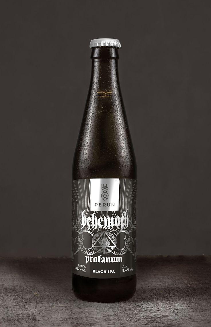 White apron ale - Behemoth Perun American Dark Ale Black