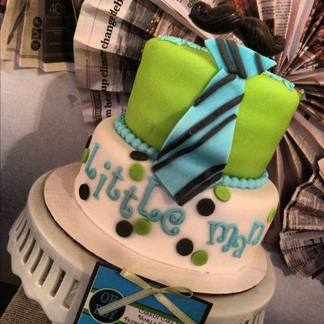 """Photo 3 of 6: Baby Shower/Sip & See """"Little Man moustache """" 