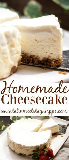 Easy Homemade Cheesecake Recipe
