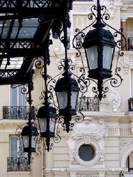 Lanterns in Paris...