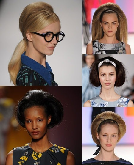 Big hair. New York Fashion Week autumn/winter 2012 trend round-up