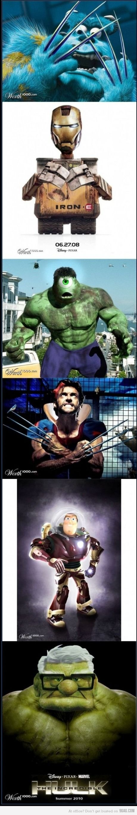 Disney + Marvel = excellent
