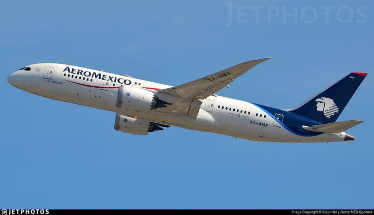 Photo of XA-AMX - Boeing 787-8 Dreamliner - Aeroméxico
