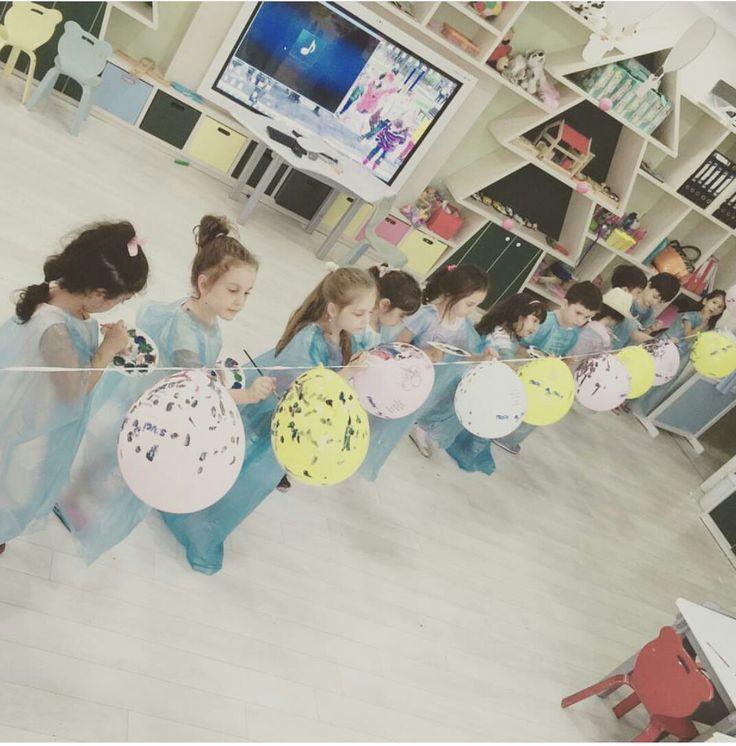 Balon boyama