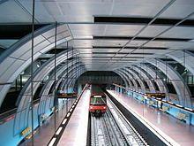 Cabo Ruivo station, Lisbon Metro.