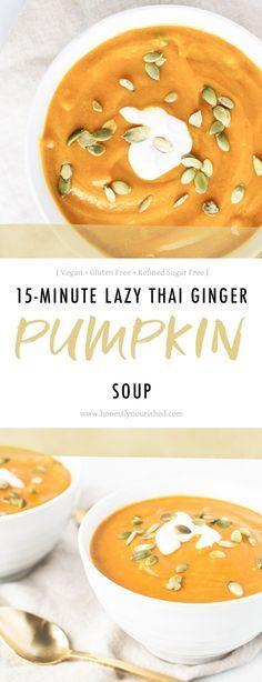 15-minute-lazy-thai-ginger-pumpkin-soup-honestly-nourished