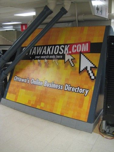 Ottawa Kiosk Civic Center Graphics