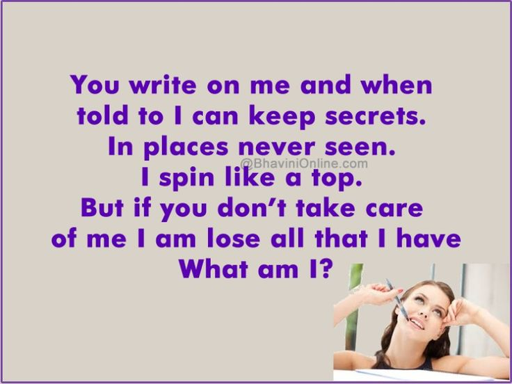 word riddle games you can write on me