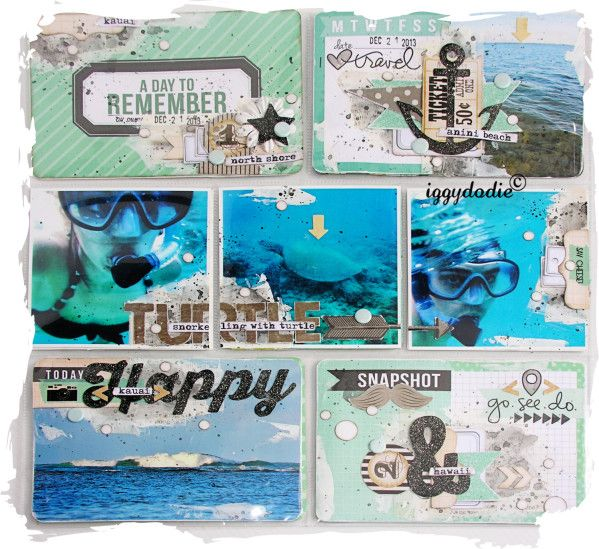 Un peu (beaucoup) de Project Life - Scrappadingue - Le scrap d Elodie Touzet iggydodie