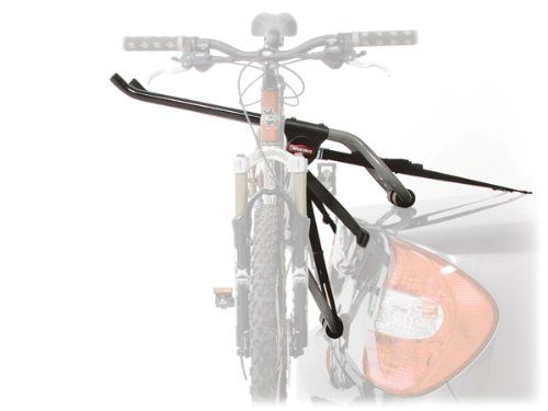 Yakima Little Joe 3-Bike Trunk Mount Rack. Easy installation. Vinyl-coated support arms protect your bike's paint job. 6-strap system attaches your trunk-style carrier securely to your car. 3-bike capacity.