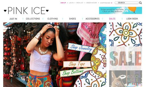 #ecommercewebsite nice ecommerce website sample