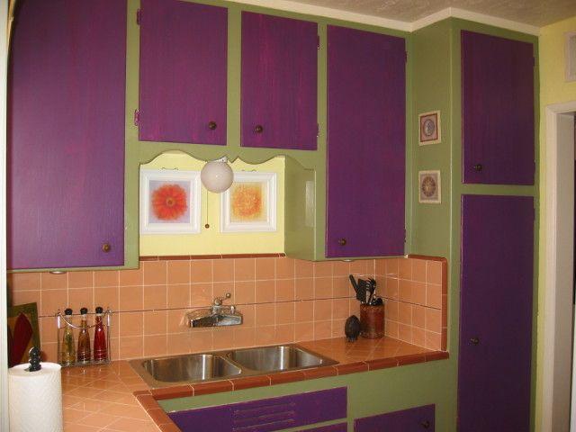 Contoh Desain Dapur Minimalis Warna Ungu Kabinet Dapur Desain Dapur Desain