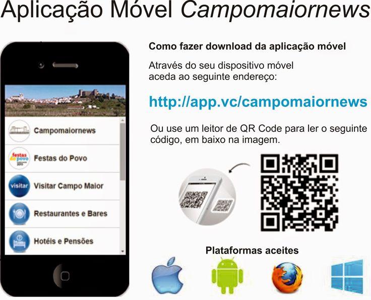Campomaiornews: Aplicação Móvel do Campomaiornews já está disponív...