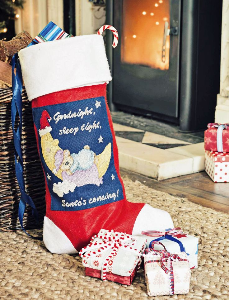 Santa's Coming - Project available in The World Of Cross Stitching 234