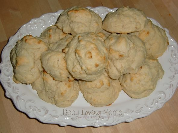 easy drop biscuits - made these this morning to go with sausage gravy ...