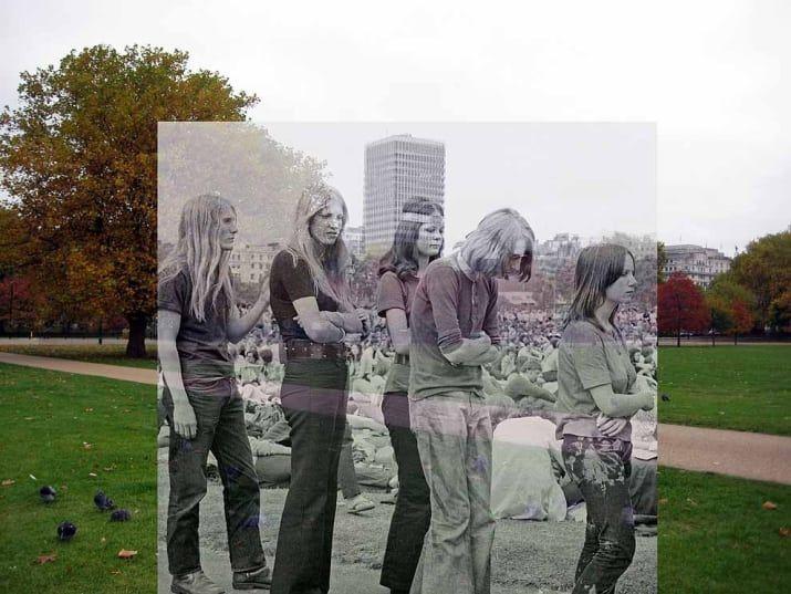 Se han estado realizando conciertos gratuitos en Hyde Park cada verano desde 1968. Los músicos que se presentaron para el evento de 1970 - incluyendo a Roy Harper, a Edgar Broughton Band y al grupo Pink Floyd - tocaron para una multitud de más de 100, 000 personas.
