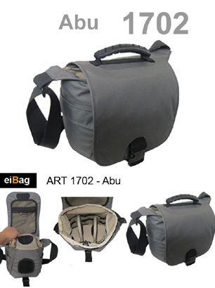 Tas kamera kode EIBAG 1702 Abu adalah salah satu produk dari EIBAG Bandung yang khusus didesain untuk melindungi kamera Anda. Modelnya simple dan hanya terdiri dari 1 kabin utama dengan 1 saku di bagian depan. Kapasitasnya bisa membawa 1 kamera dslr lensa terpasang, 1 lensa tambahan, dan aksesoris kamera. Pada paket penjualan tas kamera ini sudah dilengkapi dengan bonus free raincover.