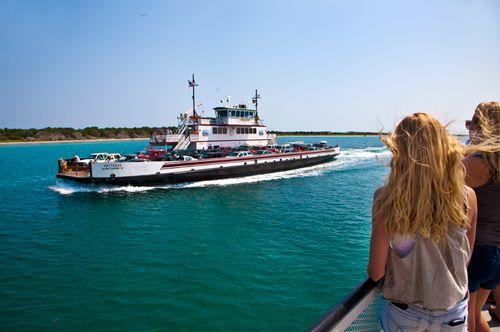Ferry ride to Ocracoke Island