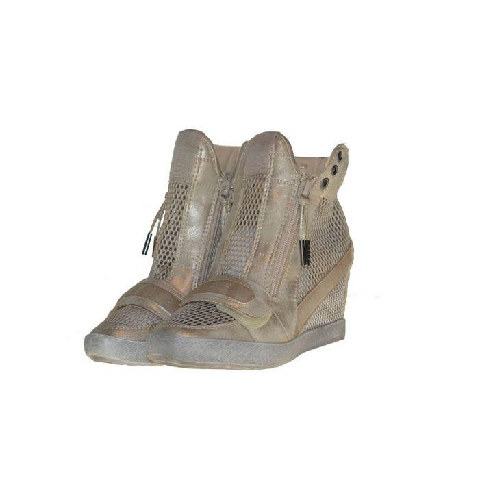 Boskie siateczkowe snaekersy tylko u Nas na: http://glamour24.pl/glowna/629-sneakersy-gold-fashion.html