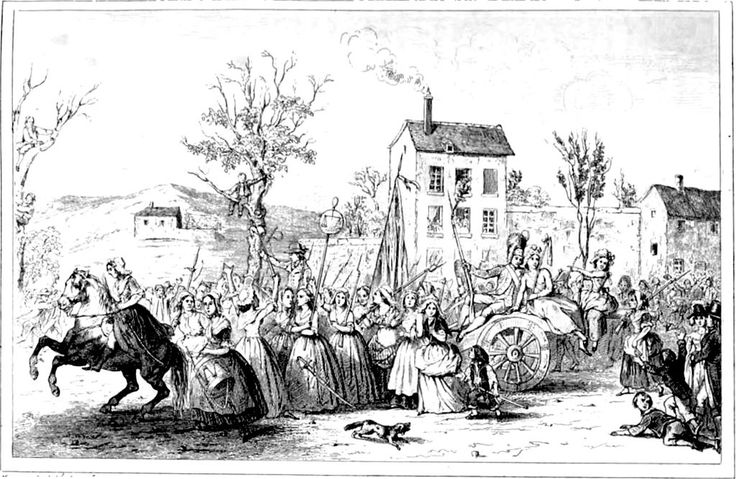 MarchWomenVersailles5-6october1789 - Women's March on Versailles - Wikipedia, the free encyclopedia