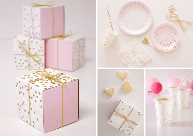 Oh Baby! A Pink Confetti Baby Shower | Paper Eskimo
