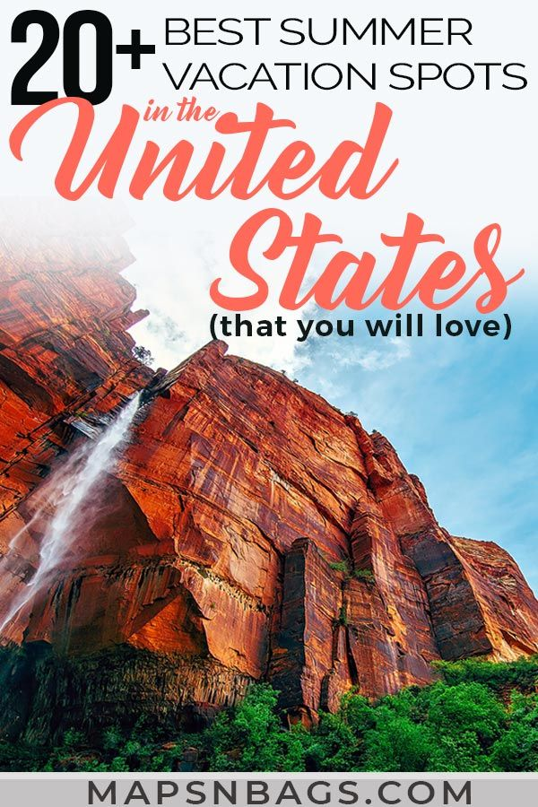 27 Amazing Summer Destinations In The Us 5 Will Blow Your Mind Best Summer Vacations Summer Vacation Spots Summer Vacation Destinations