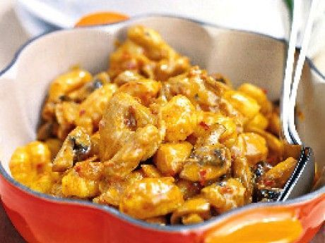Kycklinggryta med gnocchi