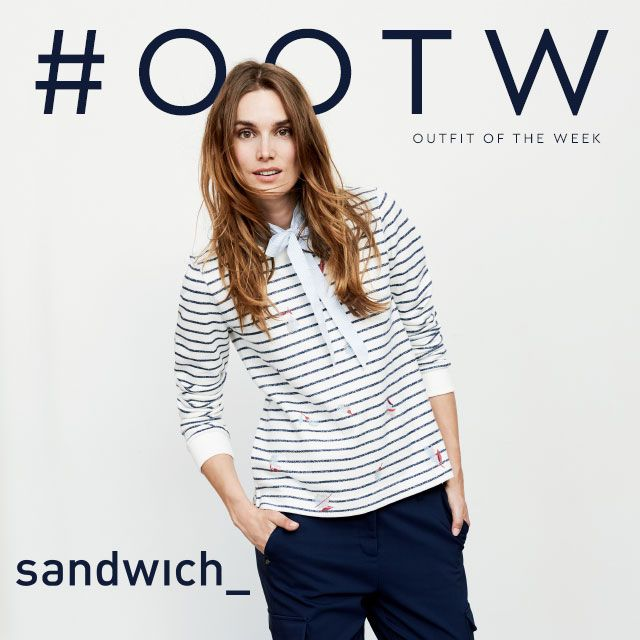 Our #OOTW comes from the latest collection by Sandwich Clothing.  This Spring edit your wardrobe with some stylish looks by @sandwichfashion available online and in our Lisburn store #Jonzara #SandwichClothing #Spring #NewSeason http://www.jonzara.co.uk/fashion/designers/sandwich-clothing.html?utm_content=bufferd11fb&utm_medium=social&utm_source=pinterest.com&utm_campaign=buffer