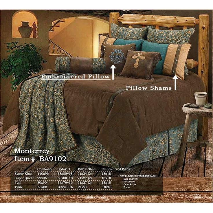 les 25 meilleures id es de la cat gorie parures de lit occidentales sur pinterest chambres. Black Bedroom Furniture Sets. Home Design Ideas