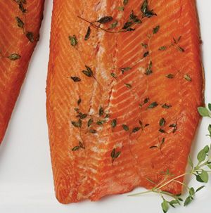 Smoking fish at home is easier than you think. Simply brine large pieces of trout or salmon, air-dry and smoke. Easy as that. Makes a wonderful holiday appetizer or meal.
