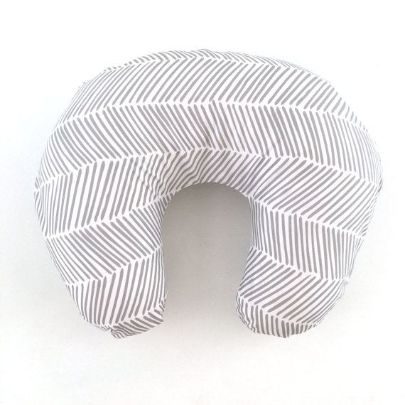"""Our covers are made to fit the standard Boppy Bare Naked Pillow (that's just the Boppy without a cover). They are serged along the insides edges, so wash and dry them as much as you need. They are generously sized, so you won't have a problem stuffing your pillow in. Each one comes with a 22"""" white zipper on the outside edge.   This particular listing includes one Boppy cover. Boppy Pillow not included."""