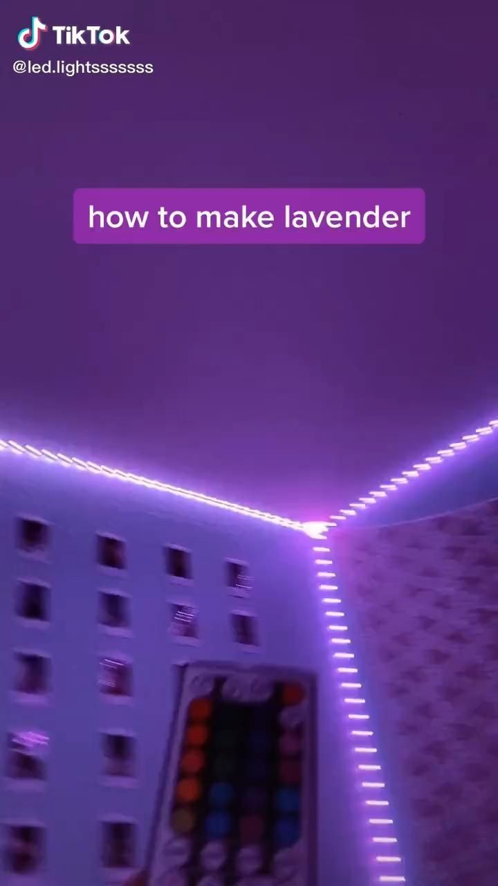Diy Ideas For Room Decor In 2020 Led Lighting Diy Diy Led Lighting Ideas Led Light Strips Diy