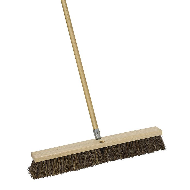 "Jensen Harper 1243SC-7 24"" Durable Push Broom"
