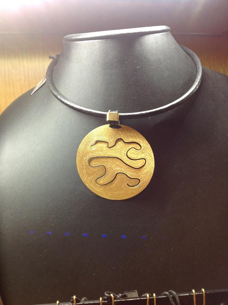 Silver necklace handmade