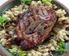 Grilled Pork Roast Recipe from RecipeTips.com!