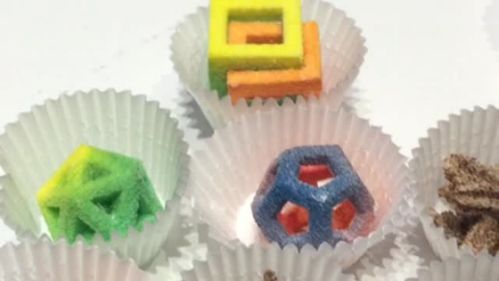 3D-Printed Candies from 3D Systems. Here are 10 other things you missed at the Bite Food + Tech Conference
