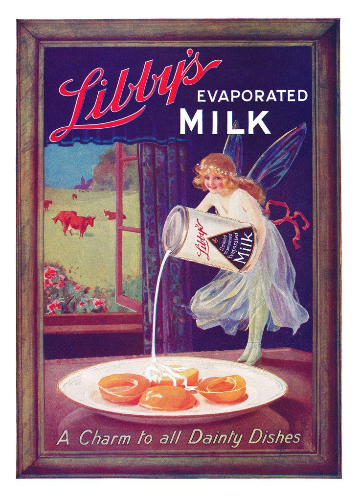 1920s Libby's Evaporated Milk ad