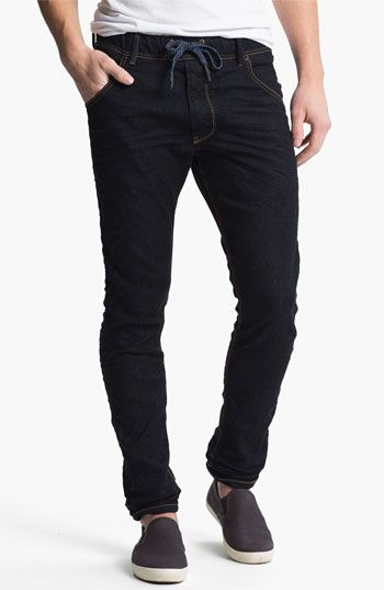 DIESEL® 'Krooley - Jogg Jeans' Tapered Leg Sweatpants available at #Nordstrom