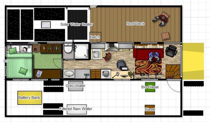 Pin By Jeremy Griesinger On Skoolie RV Sample Floor Plans