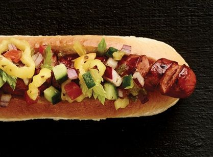 Pigtail Hot Dogs with Chicago-Style Salsa | Publix Recipes