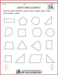 2d shapes for grade 3 2d shapes worksheets 2nd grade1000 Make your own 3d shapes online