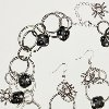 Scary Spider Necklace and Earring Set | FaveCrafts.com