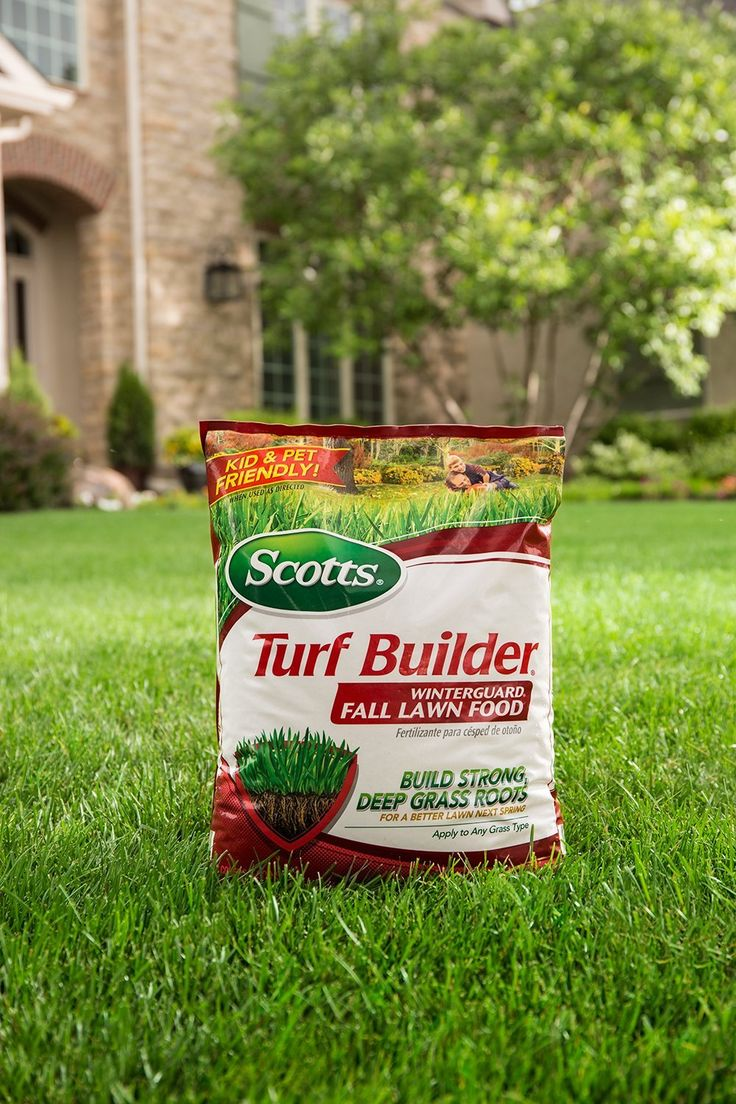 Scotts Turf Builder WinterGuard Fall Lawn  Food is from the Scotts Feed for Fall Lawn Fertilizer product lines. This lawn fertilizer protects and strengthens your lawn during winter for a better spring lawn.