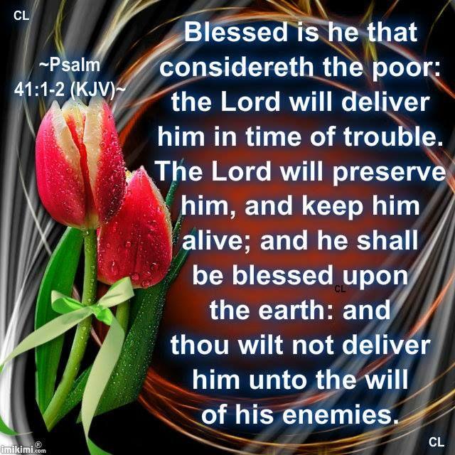 PSALM 41: 1 - 2 | Psalms | Pinterest | Psalms and Psalm 41