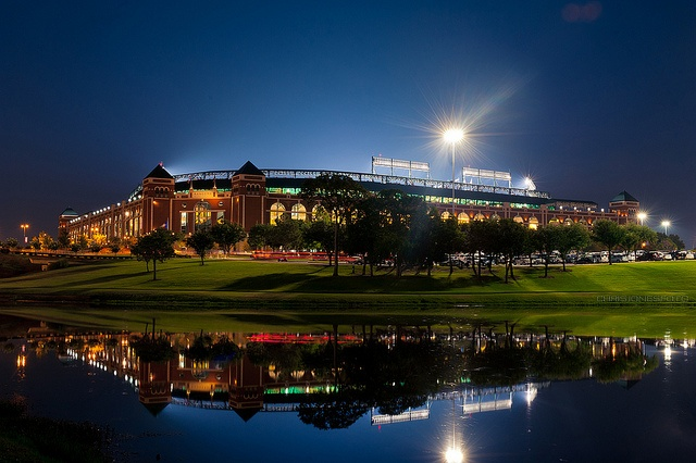 rangers ballpark reflection - Google Search