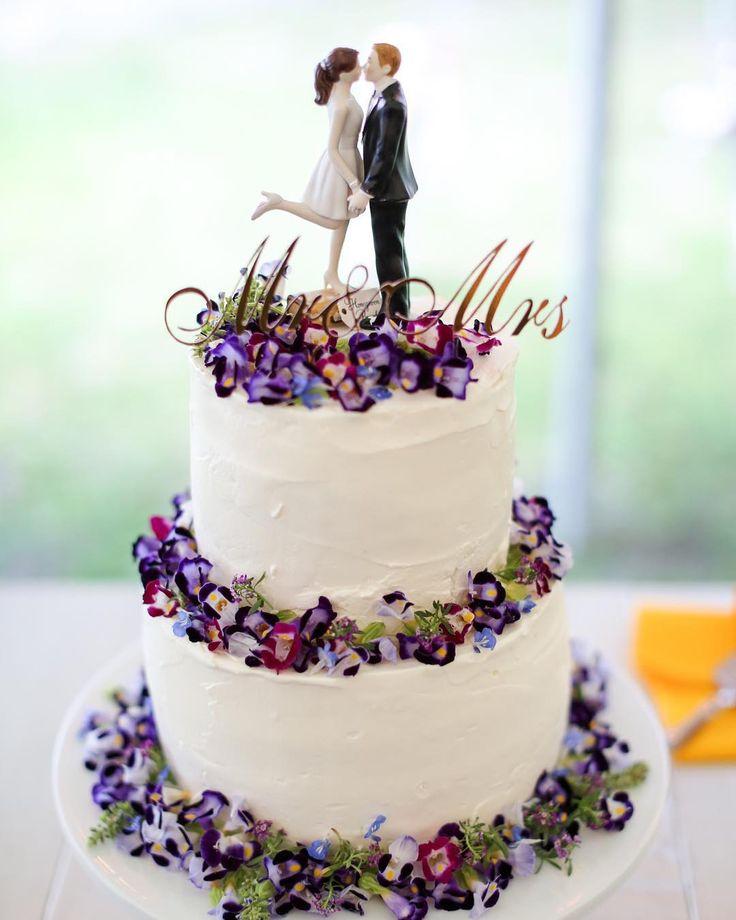 「ウェディングケーキ 主役はケーキトッパー #ブログ」